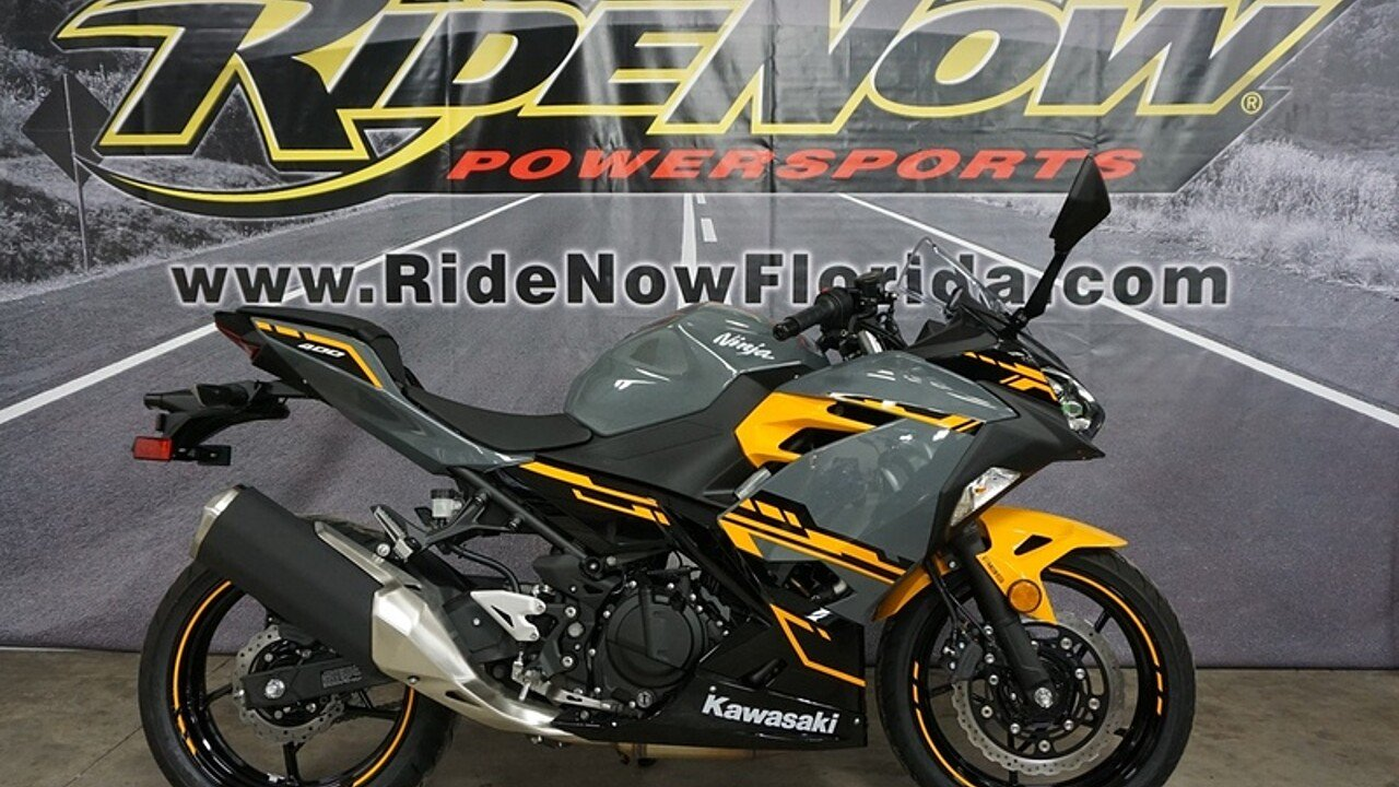 2018 Kawasaki Ninja 400 for sale 200570374