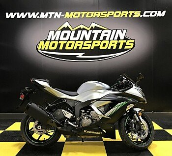 2018 Kawasaki Ninja ZX-6R ABS for sale 200537944