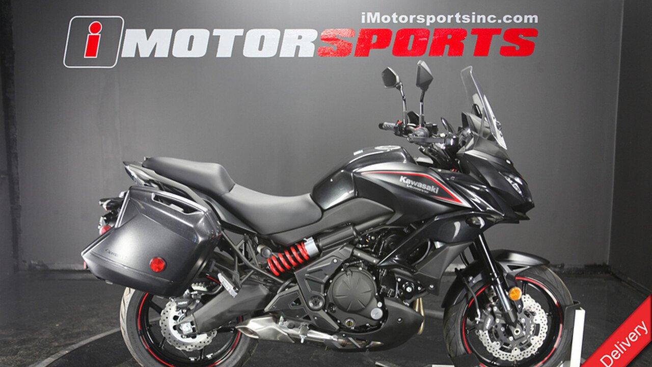 2018 Kawasaki Versys 650 ABS for sale 200528333