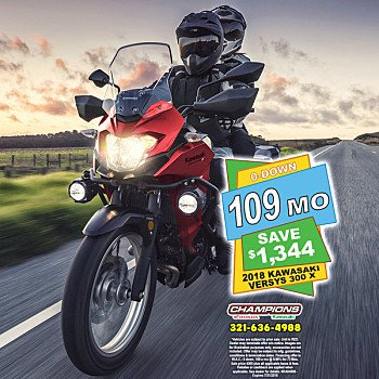 2018 Kawasaki Versys X-300 ABS for sale 200571040