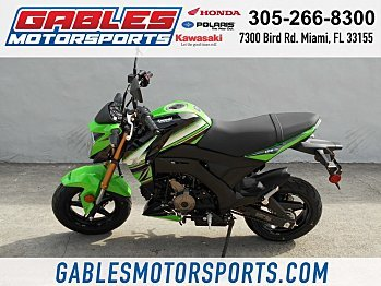 2018 Kawasaki Z125 Pro for sale 200504287