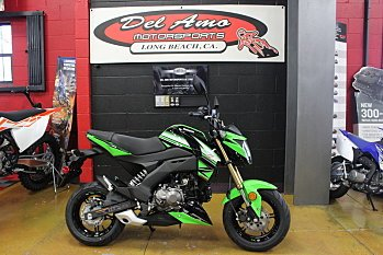2018 Kawasaki Z125 Pro for sale 200512462
