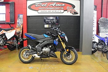 2018 Kawasaki Z125 Pro for sale 200512504