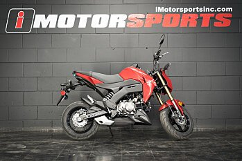 2018 Kawasaki Z125 Pro for sale 200528332
