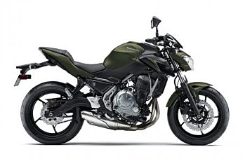 2018 Kawasaki Z650 ABS for sale 200529980