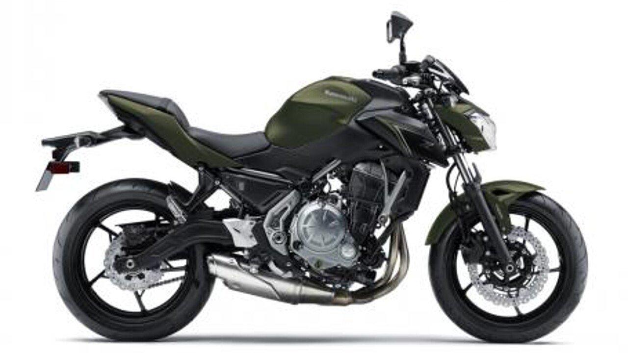 2018 Kawasaki Z650 ABS for sale 200529980