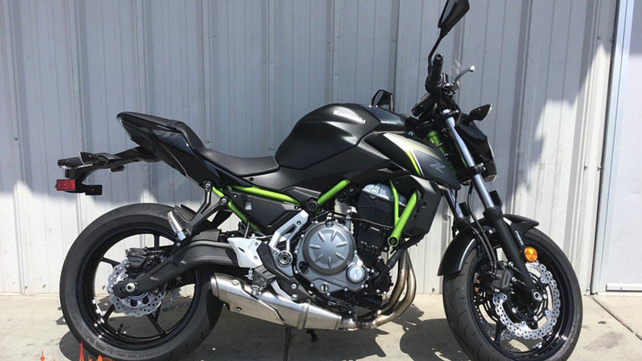 2018 Kawasaki Z650 ABS for sale 200596814