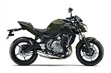 2018 Kawasaki Z650 for sale 200608444