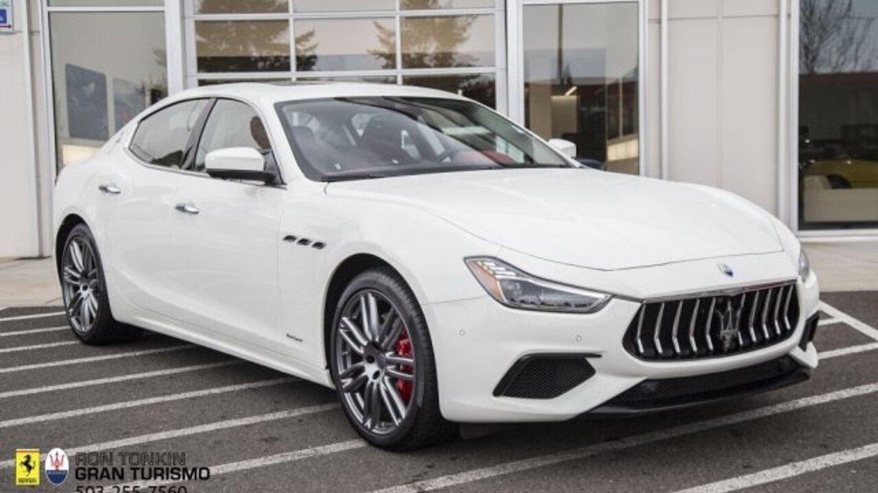 2018 Maserati Ghibli for sale 100996091