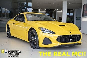 2018 Maserati GranTurismo Coupe for sale 100996059