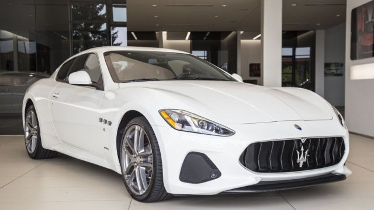 2018 Maserati GranTurismo Coupe for sale 100996087