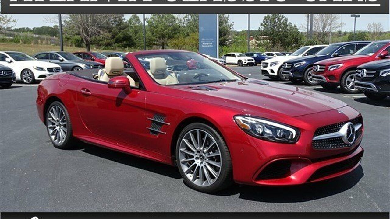 2018 mercedes benz sl550 for sale near duluth georgia for Atlanta classic cars mercedes benz boggs road duluth ga