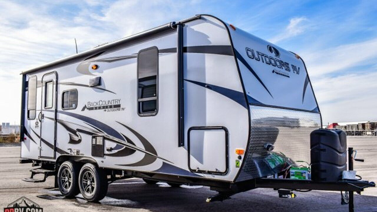 2018 Outdoors RV Black Rock for sale 300142071