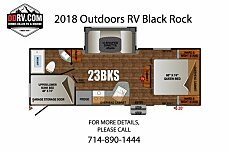 2018 Outdoors RV Black Rock for sale 300154008