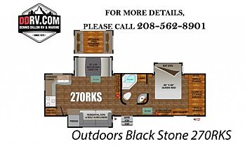2018 Outdoors RV Black Stone for sale 300146472