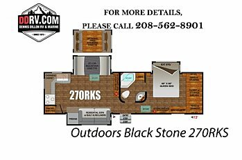 2018 Outdoors RV Black Stone for sale 300148833