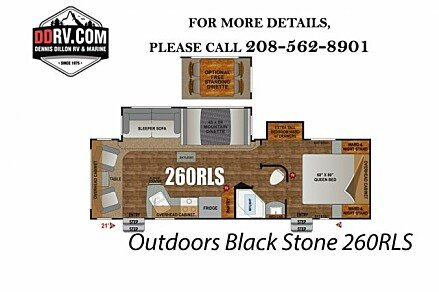 2018 Outdoors RV Black Stone for sale 300148836