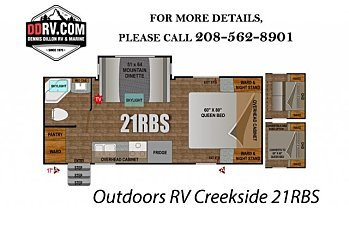 2018 Outdoors RV Creekside for sale 300146452
