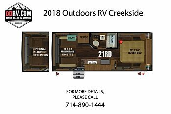 2018 Outdoors RV Creekside for sale 300148776