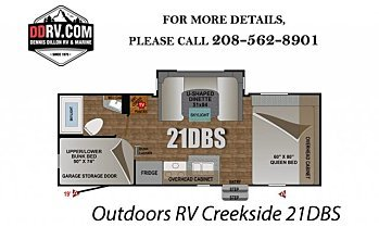 2018 Outdoors RV Creekside for sale 300148832