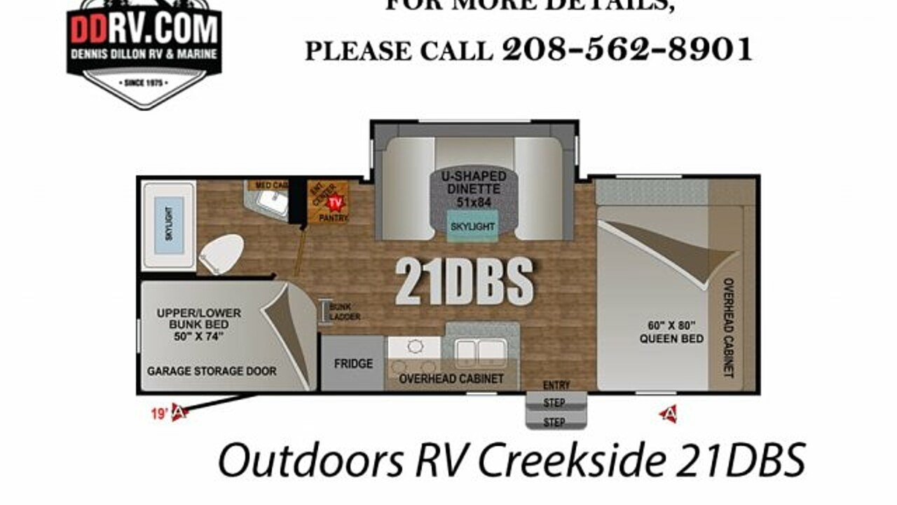 2018 Outdoors RV Creekside for sale 300148843