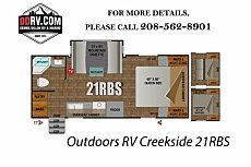2018 Outdoors RV Creekside for sale 300150342