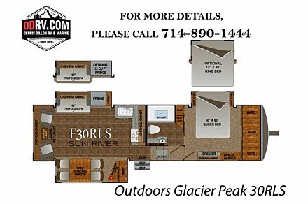 2018 Outdoors RV Glacier Peak for sale 300148785