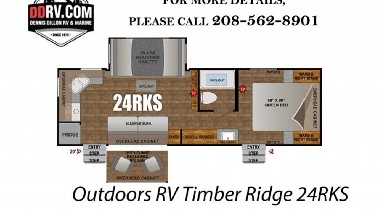2018 Outdoors RV Timber Ridge for sale 300147842