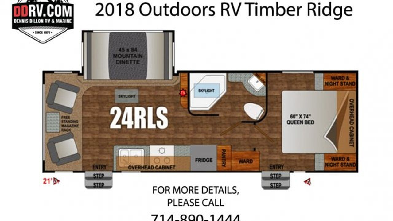 2018 Outdoors RV Timber Ridge for sale 300148780