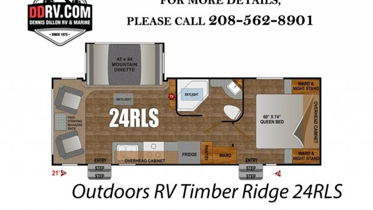 2018 Outdoors RV Timber Ridge for sale 300148830