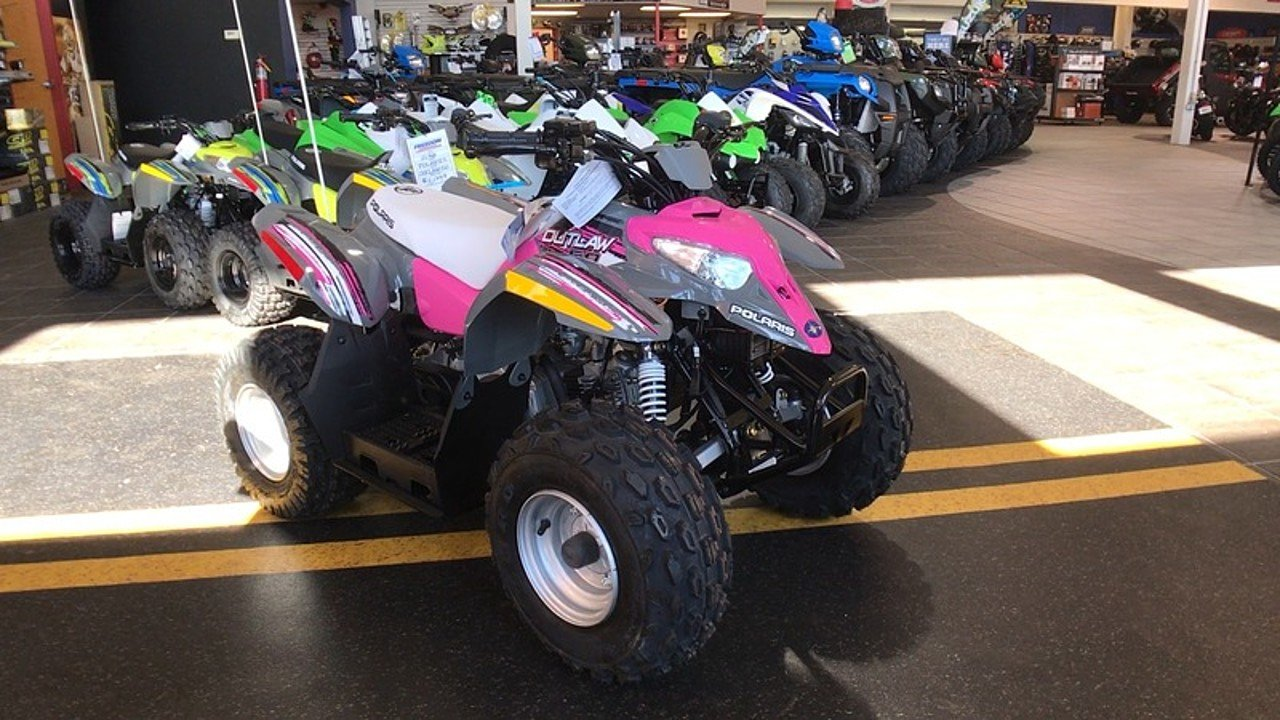 2018 Polaris Outlaw 50 for sale 200515234