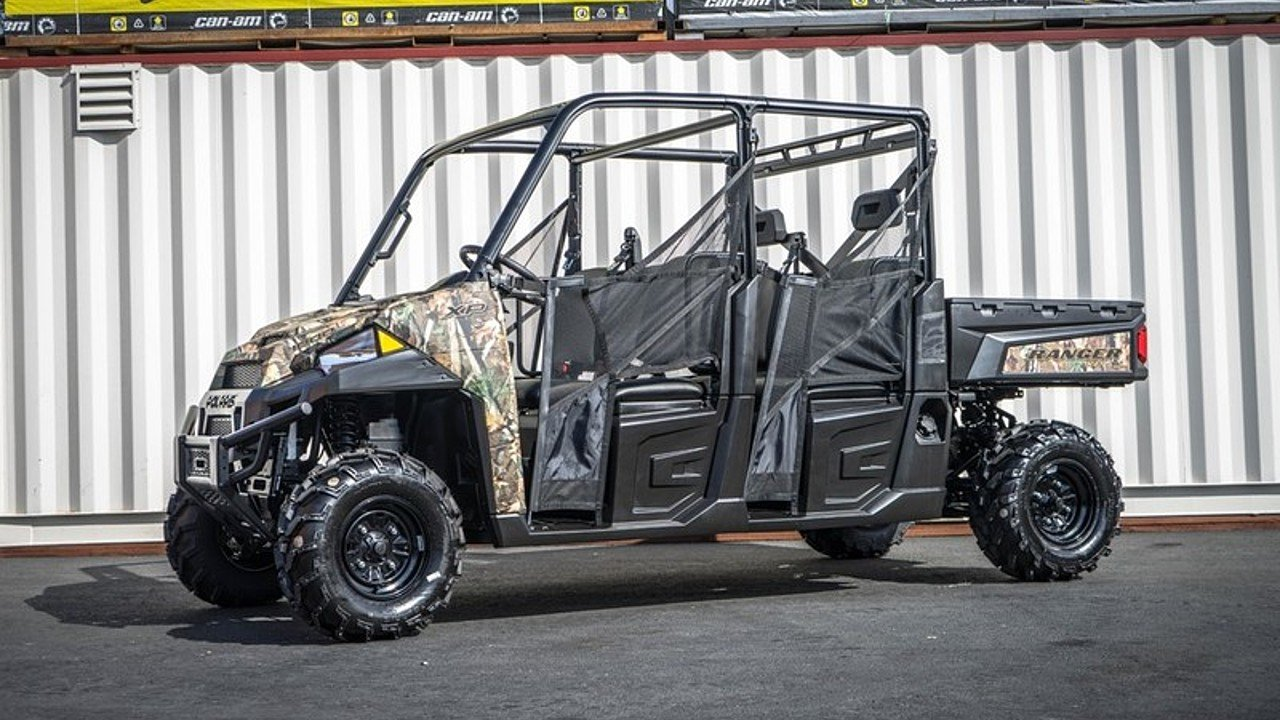 2018 Polaris Ranger Crew XP 1000 for sale 200552517