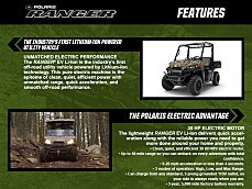 2018 Polaris Ranger EV for sale 200511244