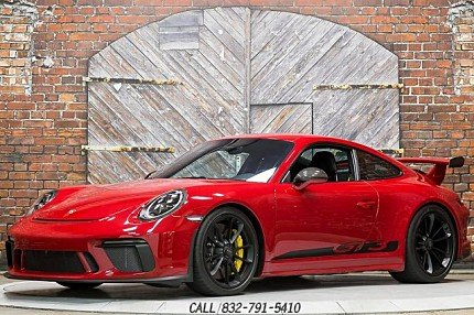 2018 Porsche 911 GT3 Coupe for sale 101021118