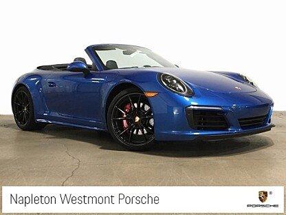 2018 Porsche 911 Cabriolet for sale 101031080
