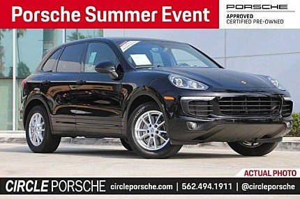 2018 Porsche Cayenne for sale 101006350