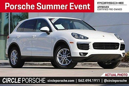 2018 Porsche Cayenne for sale 101006798