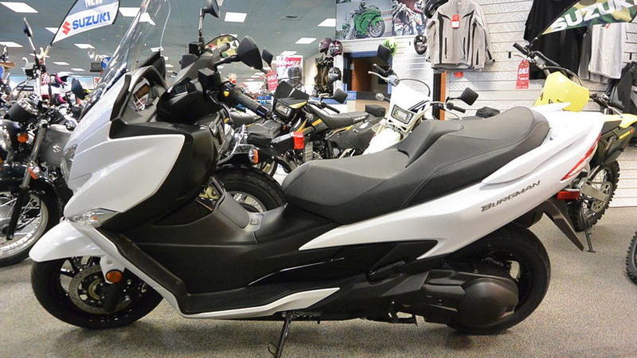 2018 suzuki burgman 400 for sale near concord north carolina 28027 motorcycles on autotrader. Black Bedroom Furniture Sets. Home Design Ideas