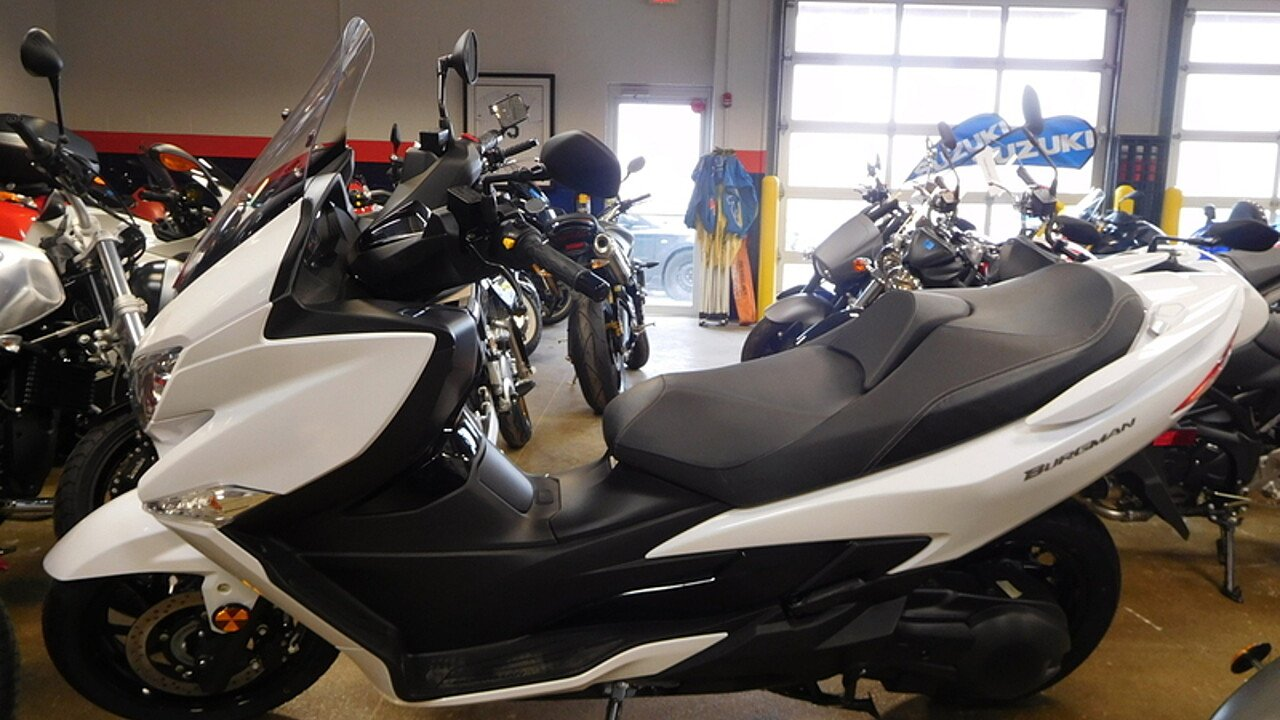 2018 Suzuki Burgman 400 for sale 200529029