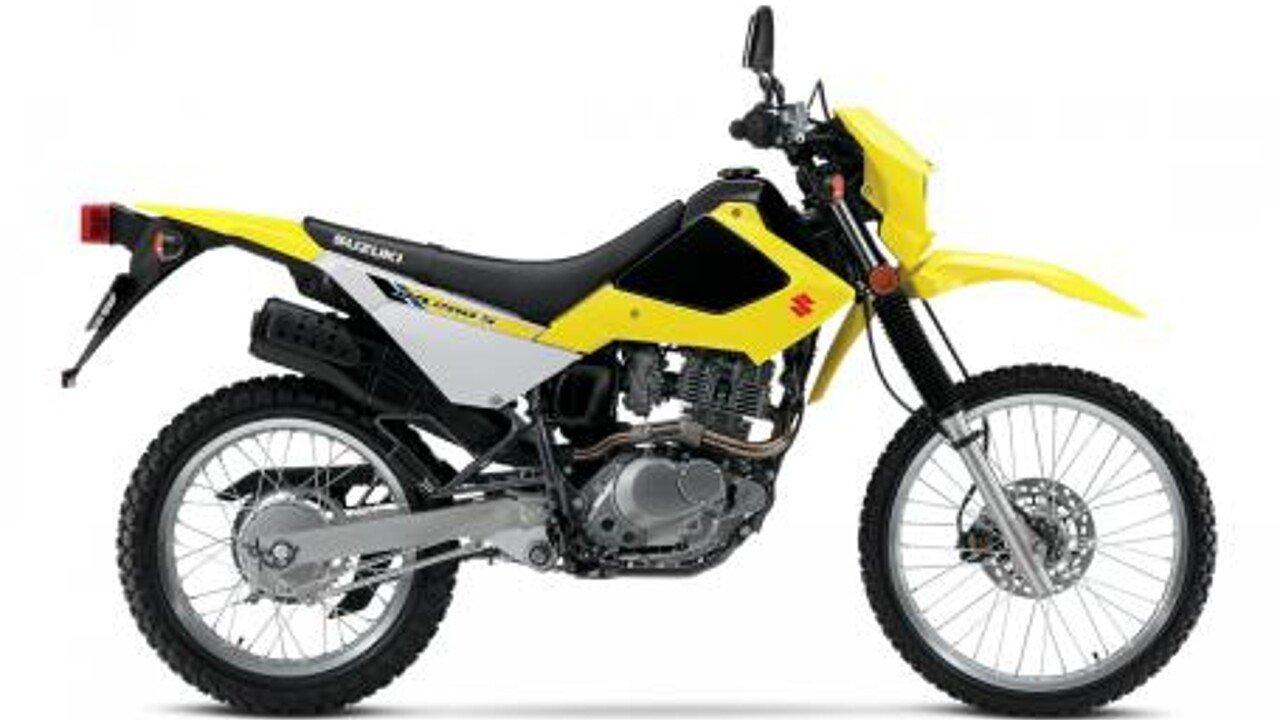 2018 Suzuki DR200S for sale 200550341