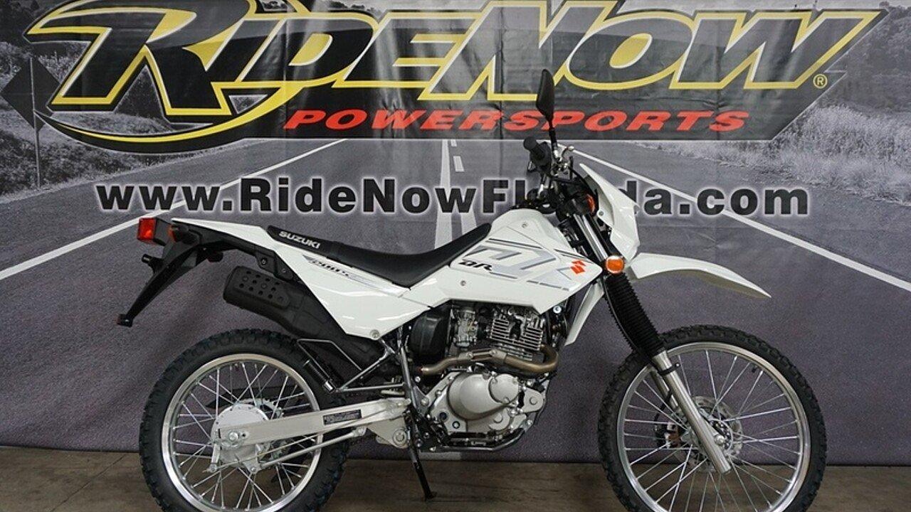 2018 Suzuki DR200S for sale 200570427