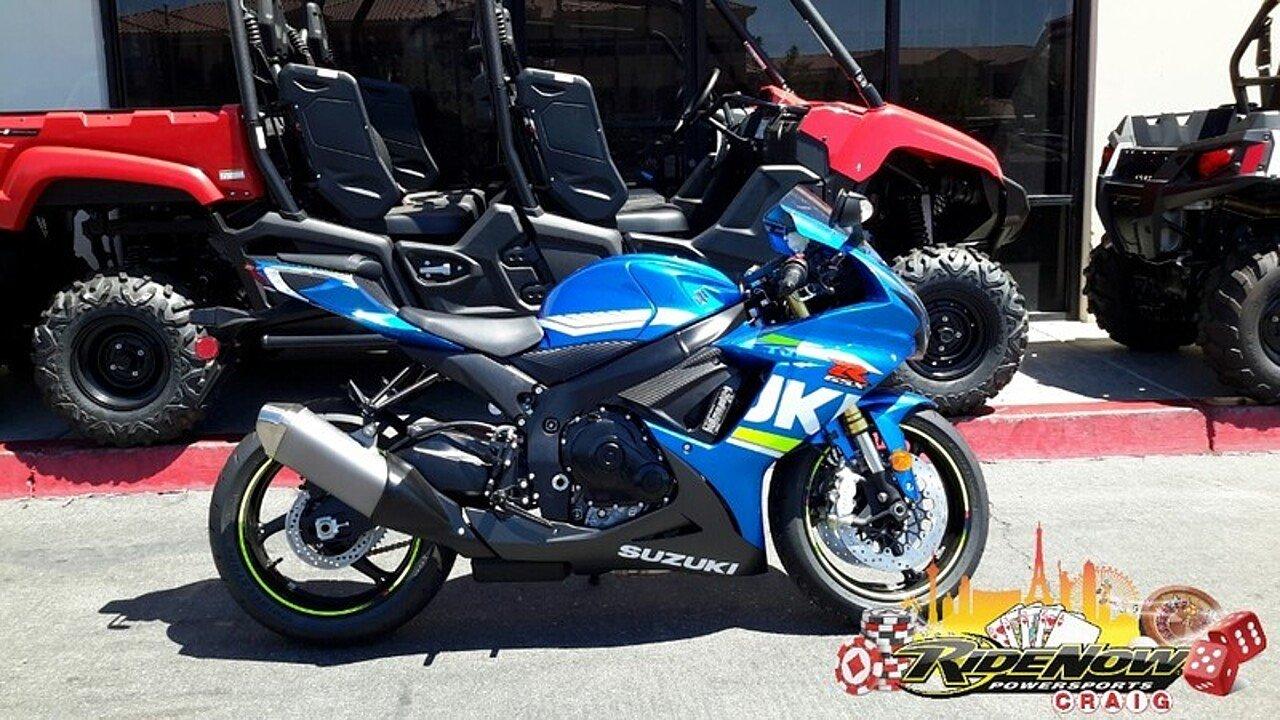 2018 Suzuki GSX-R600 for sale 200546484