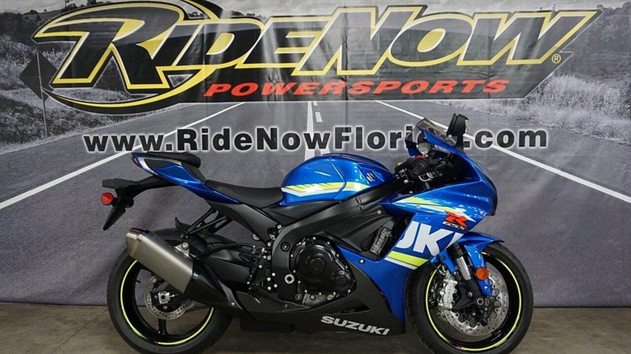 2018 Suzuki GSX-R600 for sale 200570268