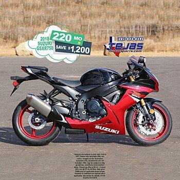 2018 Suzuki GSX-R750 for sale 200584471