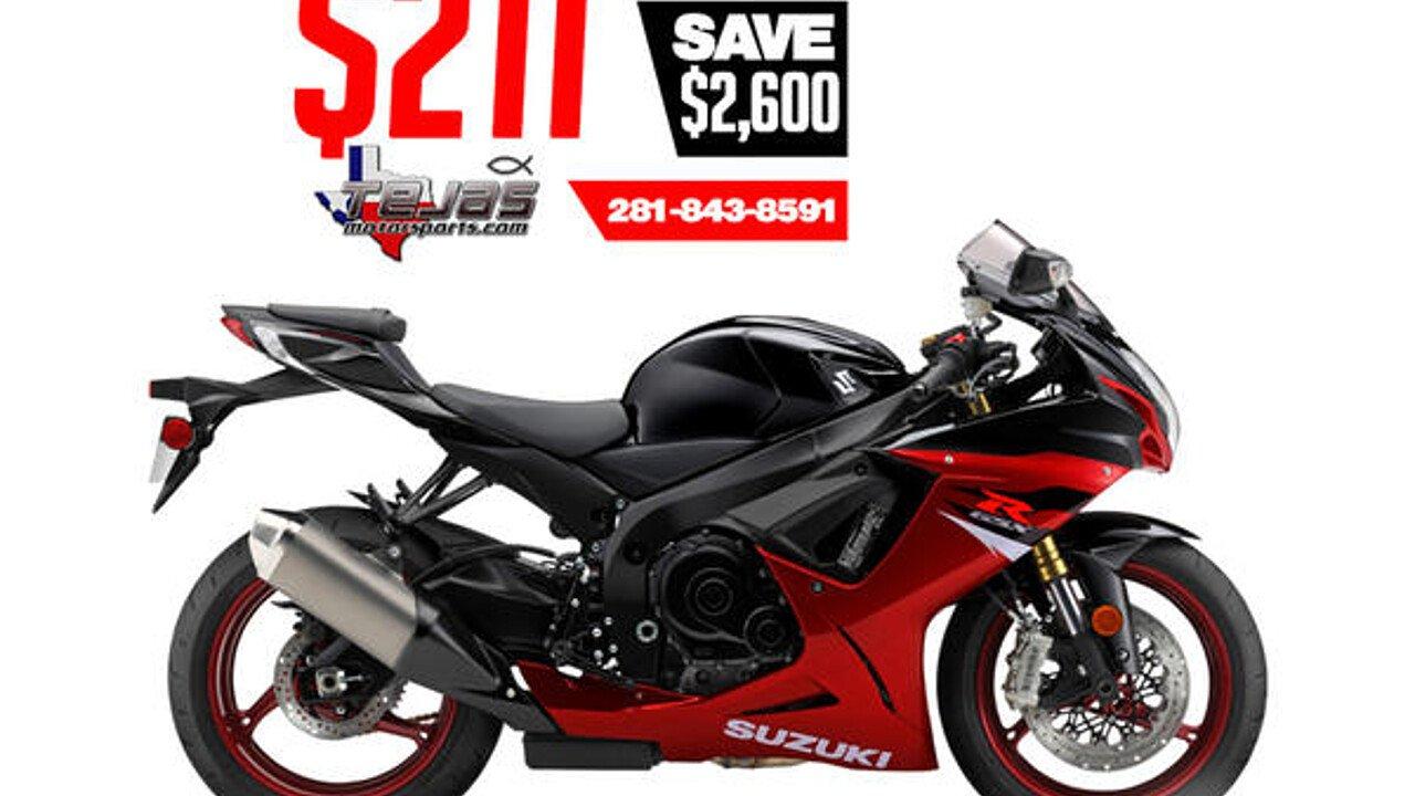 2018 Suzuki GSX-R750 for sale 200584474