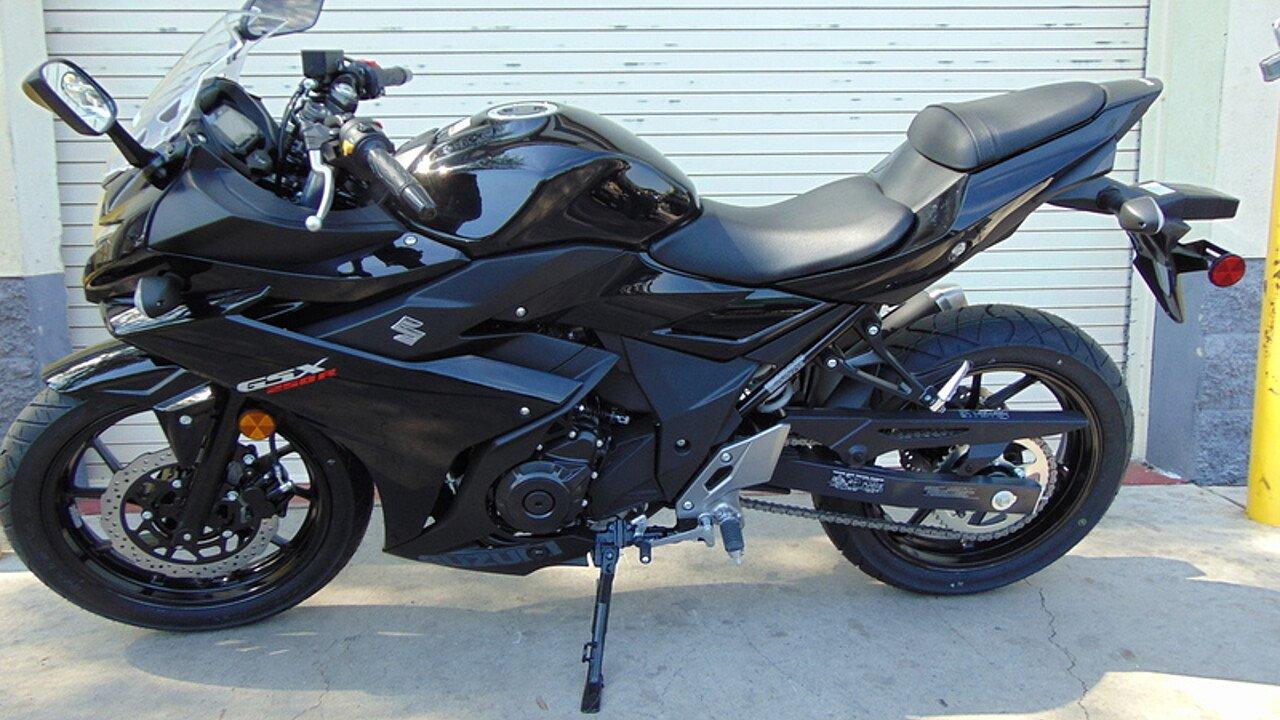 2018 Suzuki GSX250R for sale 200460760