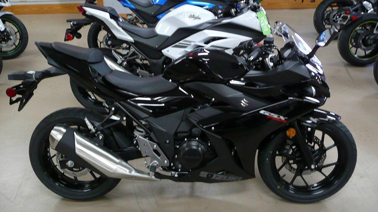 2018 Suzuki GSX250R for sale 200463209