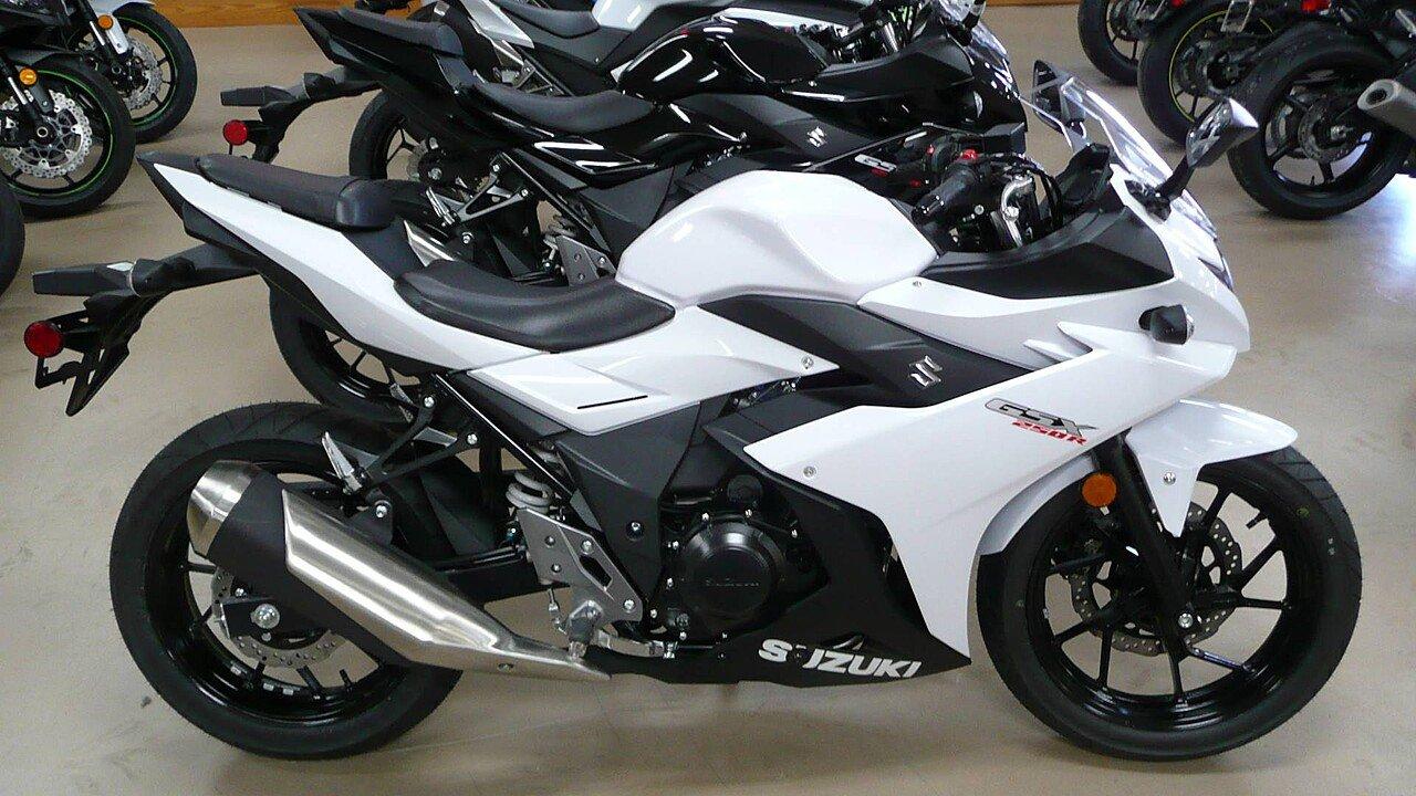2018 Suzuki GSX250R for sale 200471657