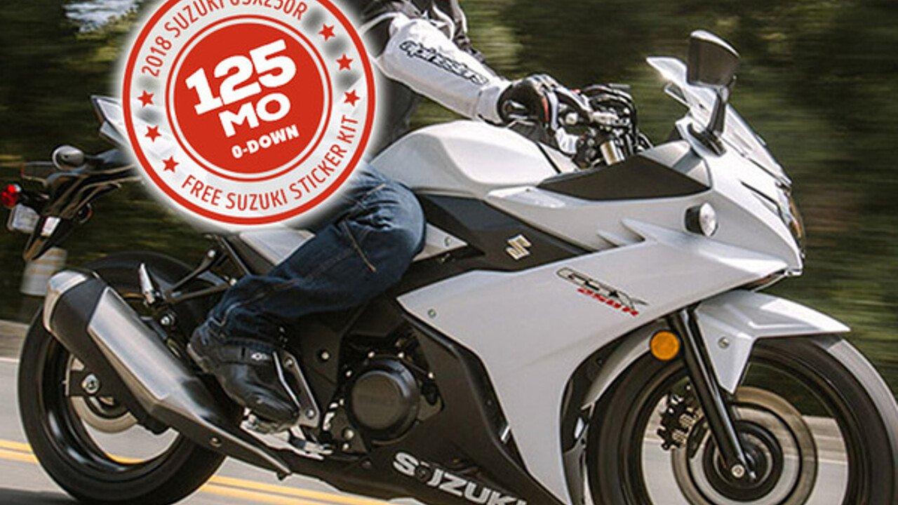 2018 Suzuki GSX250R for sale 200588127