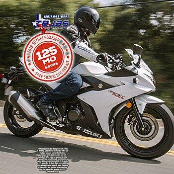 2018 Suzuki GSX250R for sale 200612844